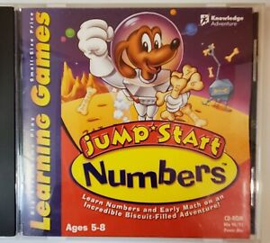 Jump Start Numbers CD-ROM Knowledge Adventure PC/MAC  (1998) VTG.ships free