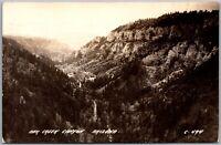Oak Creek Canyon AZ Vintage RPPC Real Photo Postcard C4