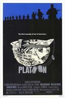 Platoon Movie POSTER 11 x 17 Charlie Sheen, Willem Dafoe, Tom Berenger, A