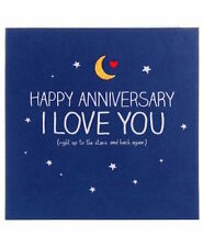 Happy Jackson Card: Happy Anniversary I Love You - New In Cello