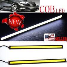 2pcs LED COB Car DRL Driving Daytime Running Lamp Fog Light White 17cm
