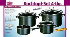 Kochtopfset Topfset Profi BlackStar Emaille Kochtopf Induktion GSW 255417