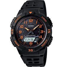 Casio AQS800W-1B2V Men's Tough Solar World Time Alarm Chrono Ana-Digi Watch
