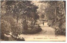 CP 02 AISNE - Ribemont - Jardin Public