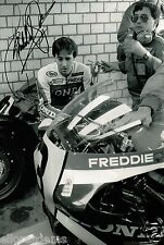 Freddie Spencer Fast Freddie 500cc World Champion Moto GP Hand Signed Photo AK