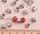 6~16mm Tibetan Silver Metal Flowers Loose Spacer Beads Caps Jewelry Findings