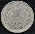 1889 Great Britain Half Crown Coin ( 14.138 Grams .925 Silver )
