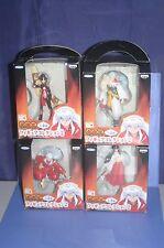 InuYasha Inu Yasha Sesshomaru,Kikyo,Sango Figure Collection2 SET BANPRESTO JPN