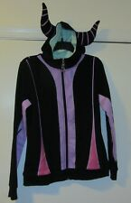 NWT Disney's Villain Maleficent Cosplay Hoodie Jacket Jr. Size M Medium