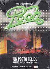 Dvd + Libretto POOH ~ UN POSTO FELICE ~ AREZZO PIAZZA GRANDE slipcase nuovo 1999