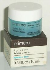 NIB Primera Alpine Berry Water Cream, Travel Size 0.33 fl oz / 10ml