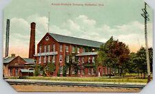 Barberton Ohio~Rubber Products Company~Railroad Tracks~c1910 Postcard