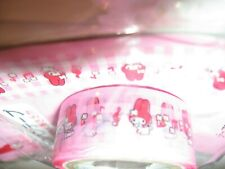 Vintage My Melody Sanrio Smiles Tape mini made in Japan new and tagged