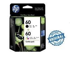HP 60 Combo-pack Black/Tri-color Original Ink Cartridges