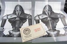 "NEW - 2x BATTLESTAR GALACTICA Cylon Range Facility Target Posters, 17"" x 22"""