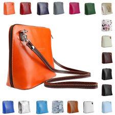 Women Vera Pele Mini Genuine Italian Real Leather Shoulder Cross body Handbag