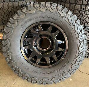 "EVO Corse DakarZero 16"" Land Rover Defender Alloy Wheels & BFG Tyres x4"