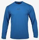 OAKLEY Men Foundational Training L/S T-Shirt Blue Tee Top Shirts FOA4004466RB