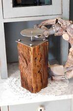 Kerzenhalter Natur Design EXNER Holz/Metall H. 27 cm Neuware