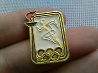 Vintage Badge Pin Olympics 1980 Moscow,Icon USSR