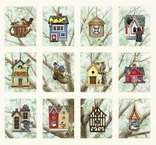 Beautiful Birds Housing Boom Panel from Elizabeth's Studios, (12 pictures)