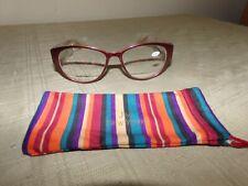 Joy Mangano Bi-Focal Reading Glasses, +2.50, Cranberry, New