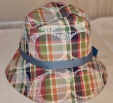 NWT Coach Daisy Madras Crusher Hat F83333 Multicolor XS/S Below $118 Retail RARE