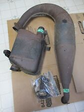 96 Arctic Cat Z 440 F/C Snowmobile Complete Exhaust Pipe Muffler Can Springs