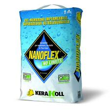 NANOFLEX NO LIMITS KERAKOLL KG.20 GUAINA MEMBRANA IMPERMEABILE MONOCOMPONENTE
