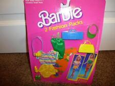 Barbie  Fashion Pack Accessorie 718-2 Camera  Purse Boom Box  Shoe Suit 1989 MOC