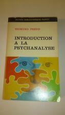 Sigmund Freud - Introduction à la psychanalyse - Payot (1970)