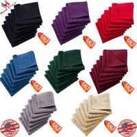 Windowpane Solid Multicolor Cotton Terry Dish Cloths Set Of 6 Towels Kitchen Bar