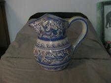 Ancien pichet en faïence du Portugal Coïmbra Azulejos ? Facerama SecXVII