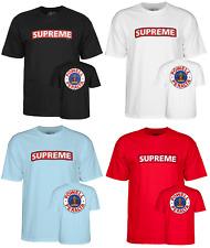 Powell Peralta Supreme Logo Skateboard T-Shirt S M L XL