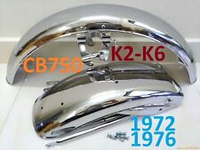 1972 - 1976 Honda CB750 K2 K6 Front & Rear Fenders Fits CB500 CB550 Mud Guards.