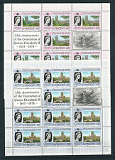 St Vincent and Grenadines Sheet Stamps