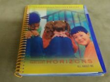 Harcourt Horizons all about me teachers edition book with spiral good condition