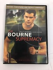 The Bourne Supremacy (DVD, Widescreen) Fast Free First Class Shipping