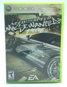Need for Speed Most Wanted (Microsoft Xbox 360, 2005) Complete With Manual CIB