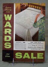 1961 Montgomery Ward Wards sale Catalog, Vintage 60's Bikes,PowerHouse, SEA KING