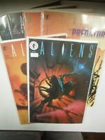 Dark Horse Aliens, Aliens vs Predator, Earth War Comic # 1,4/ 0,1/1,2  SMCO4