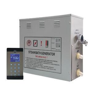 Dampfgenerator 6KW Dampfdusche mit USB und Bluetooth Dampfbad LXWGS08-117U