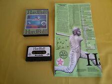 HARDBALL Commodore C64 - CBM64 Gioco cassetta Video Game Vintage Retrocomputer !