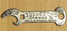 Hillsboro Brewing Co., Hillsboro, Wisconsin pre-prohibition beer opener