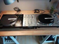 Reloop RP-4000 M3D Turntable DJ Set