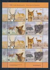 [54127] Argentina 2002 Wild animals Mammals Wwf Deer Wild pig Mnh Sheet