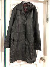 Adler Collection Women's Leather Jacket sz Medium Black