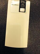 BlackBerry 8100 Pearl Rear Battery Cover Door in White - Original Part Brand New