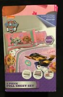 Brand New PAW Patrol Girls Best Pup Pals Full Sheet Set