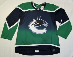 VANCOUVER CANUCKS size 54 = XL Reverse Retro ADIDAS authentic NHL hockey jersey